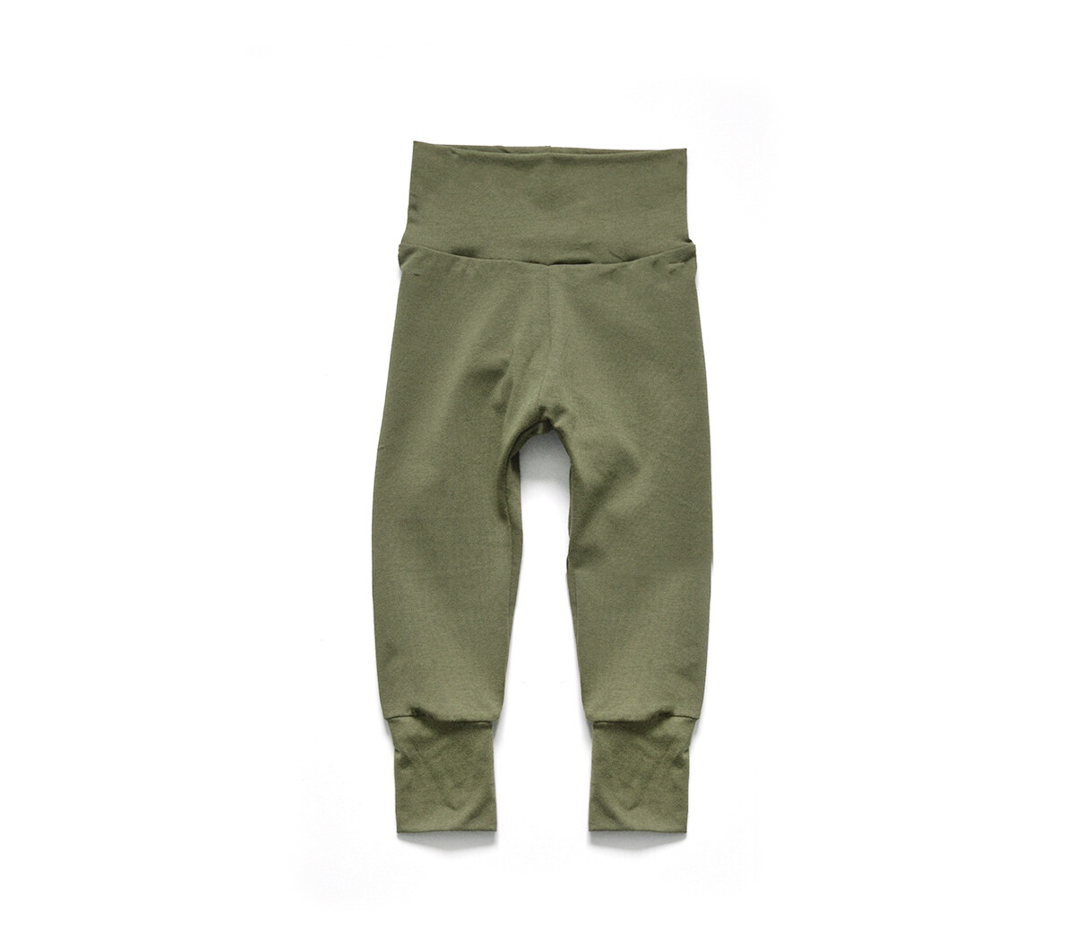 Little Sprout Pants™ in Olive | Grow With Me Leggings - Stretch