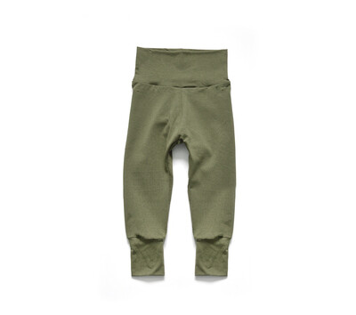 Little Sprout Pants™ in Olive | Grow With Me Leggings - Tencel