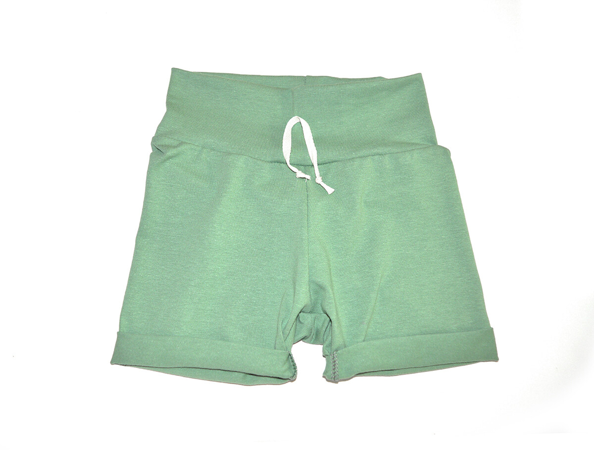 Little Sprout™ One-Size Grow with Me Short in Sage - Cotton