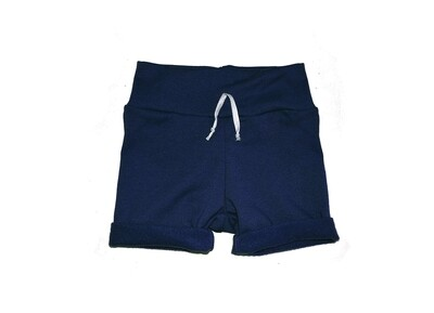 Little Sprout™ One-Size Grow with Me Lounge Short in Navy