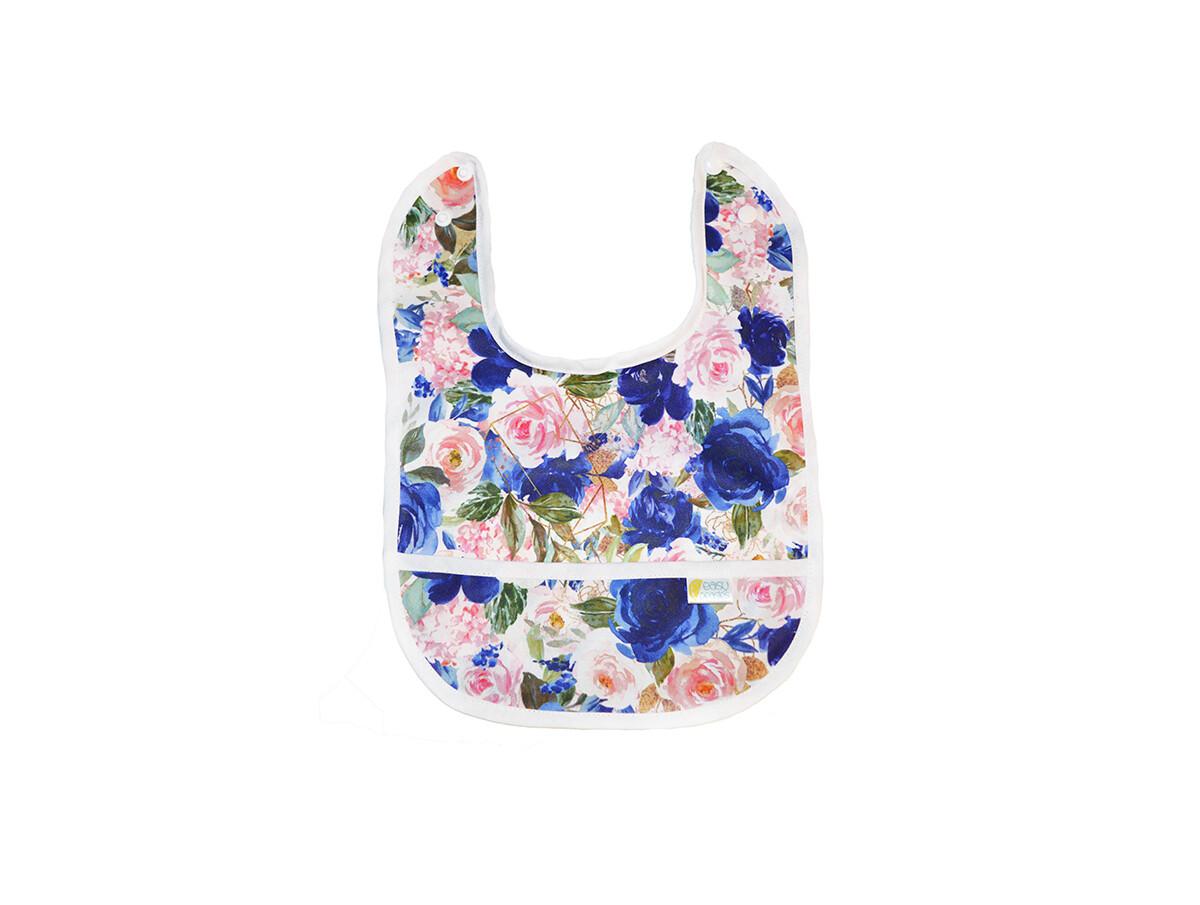 Easy Peasies® Stay Clean Pocket Bib - Bloom
