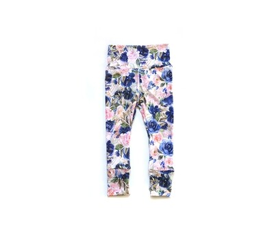 Little Sprout Pants™ in Bloom | Grow With Me Leggings - Stretch