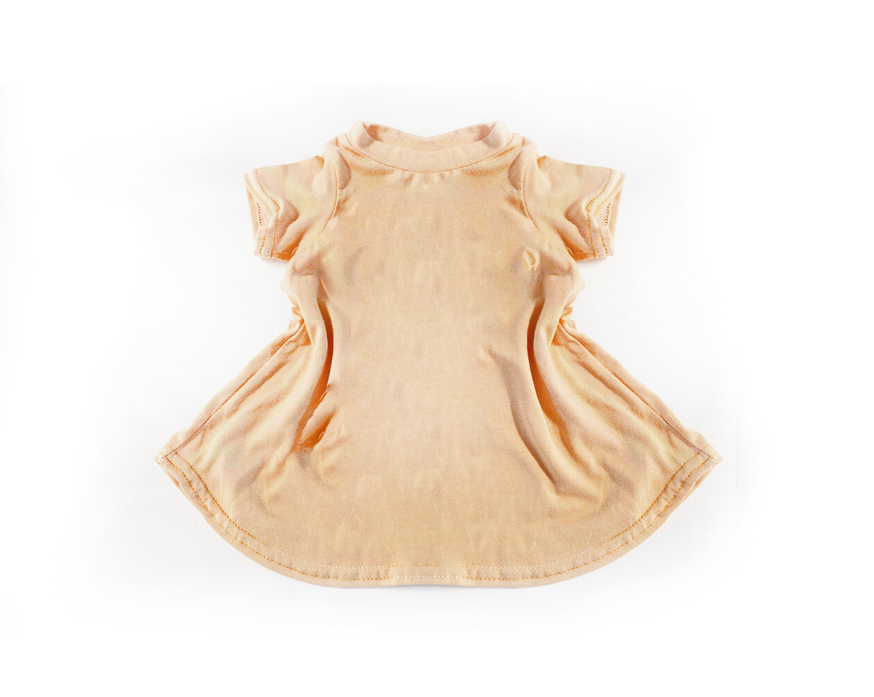Little Sprout™ Bamboo T-Shirt Dress in Peachy - Seconds