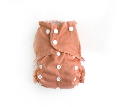 Easy Peasies® One Size Cloth Pocket Diaper - Peachy