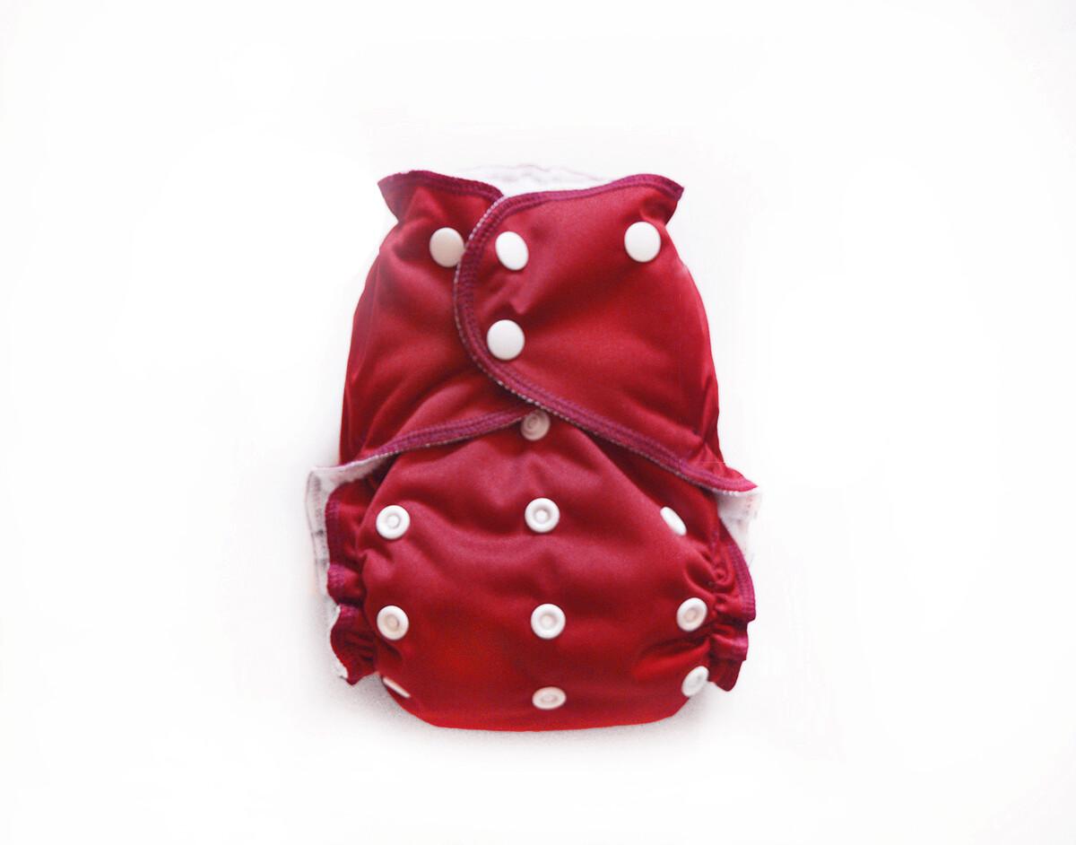 Easy Peasies Pocket Cloth Diaper - Maple