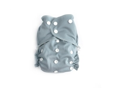 Easy Peasies One size Pocket Cloth Diaper - Dolphin