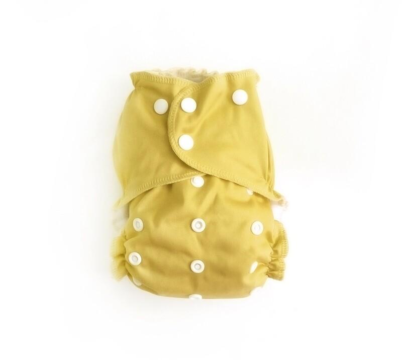 Easy Peasies Pocket Cloth Diaper - Daffodil