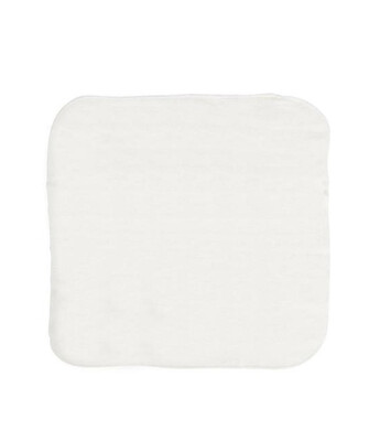 "Easy Peasies 8"" 100% Cotton Terry Reusable Cloth Wipes - Set of 6"