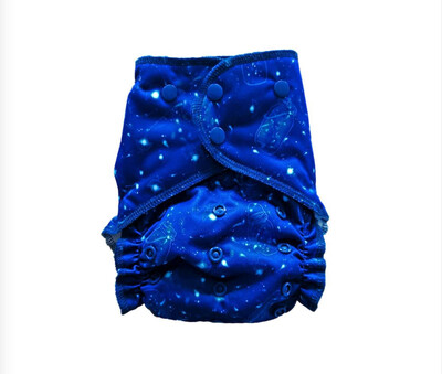 Easy Peasies® One Size Reusable Cloth Pocket Diaper - Chase