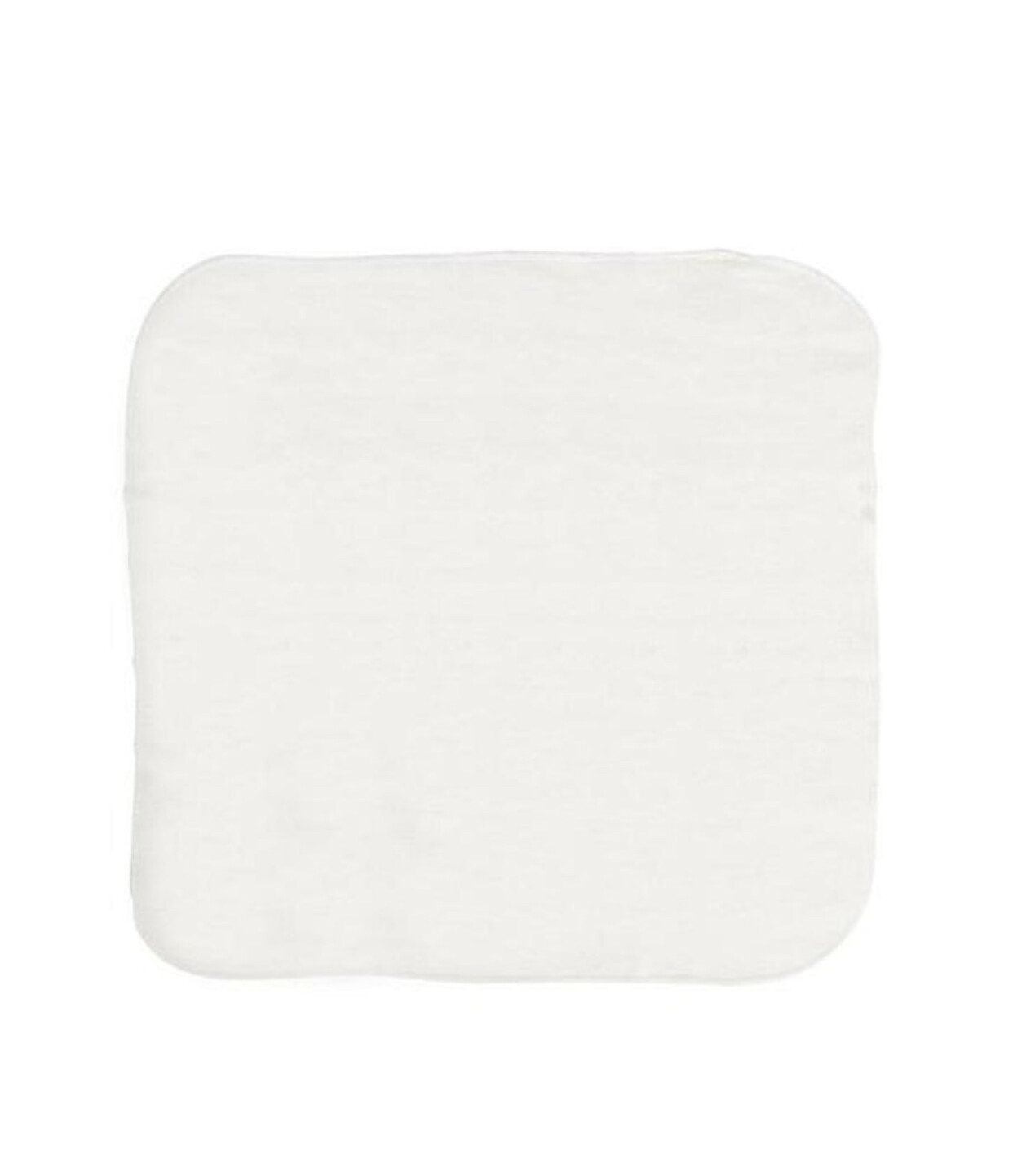 "Easy Peasies 8"" 100% Cotton Terry 2-Ply Reusable Cloth Wipes - Set of 6"