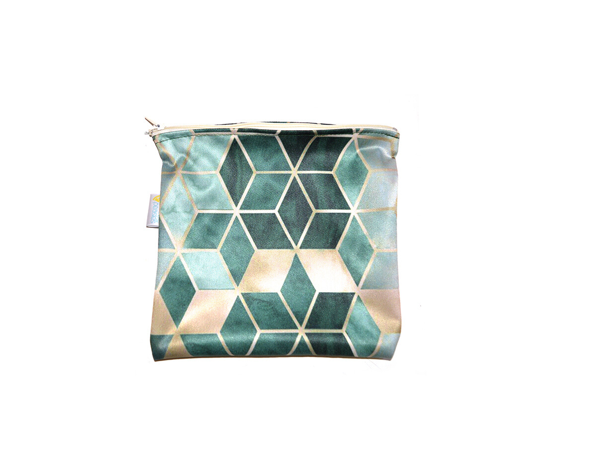 Easy Peasies® Reusable Sandwich Bag - Jade Squared