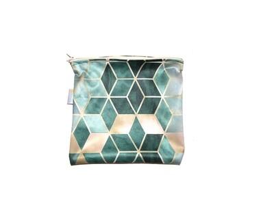 Easy Peasies® Reusable Sandwich Bag - Jade Squared