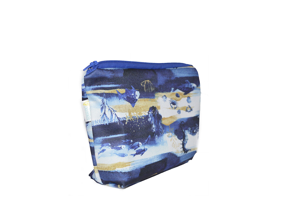 Easy Peasies® Mini Boxed-Bottom Reusable Wetbag - Under the Sea