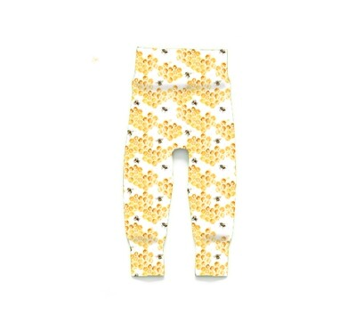 Little Sprout Pants™ in Honey | Grow With Me Leggings - Stretch