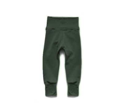 Little Sprout Pants™ in Pine | Grow With Me Leggings - Tencel
