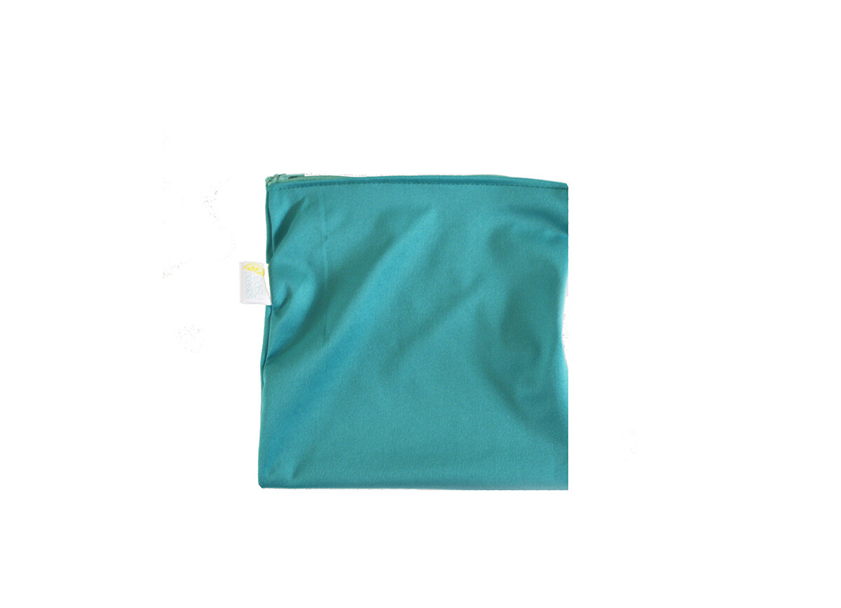 Easy Peasies® Reusable Sandwich Bag -Jade