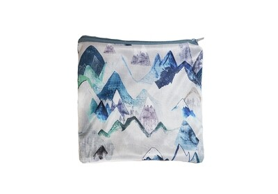 Easy Peasies® Reusable Sandwich Bag - Blue Ridge Mountains