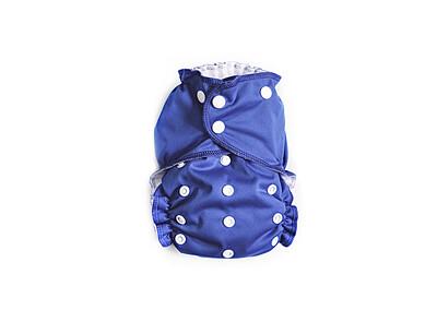 Easy Peasies Pocket Cloth Diaper - Periwinkle