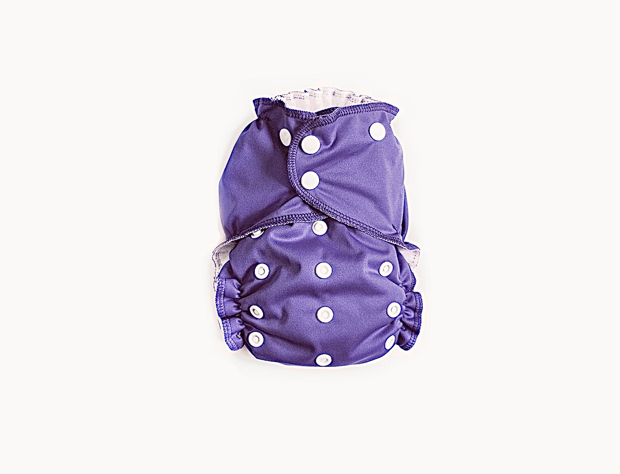 Easy Peasies Pocket Cloth Diaper - Heather