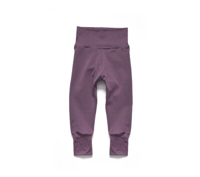 Little Sprout Pants™ in Mauve | Grow With Me Leggings - Tencel