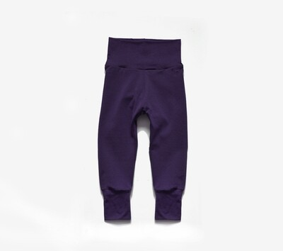Little Sprout Pants™ in Plum | Grow With Me Leggings - Tencel