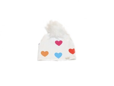 Little Sprout™ Lined Pom-Pom Beanie Hat | Love