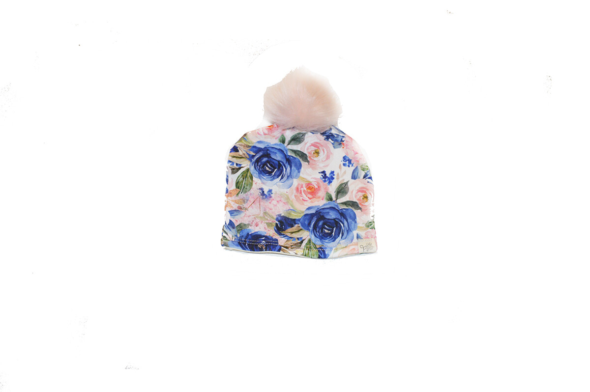 Little Sprout™ Lined Pom-Pom Beanie Hat | Bloom