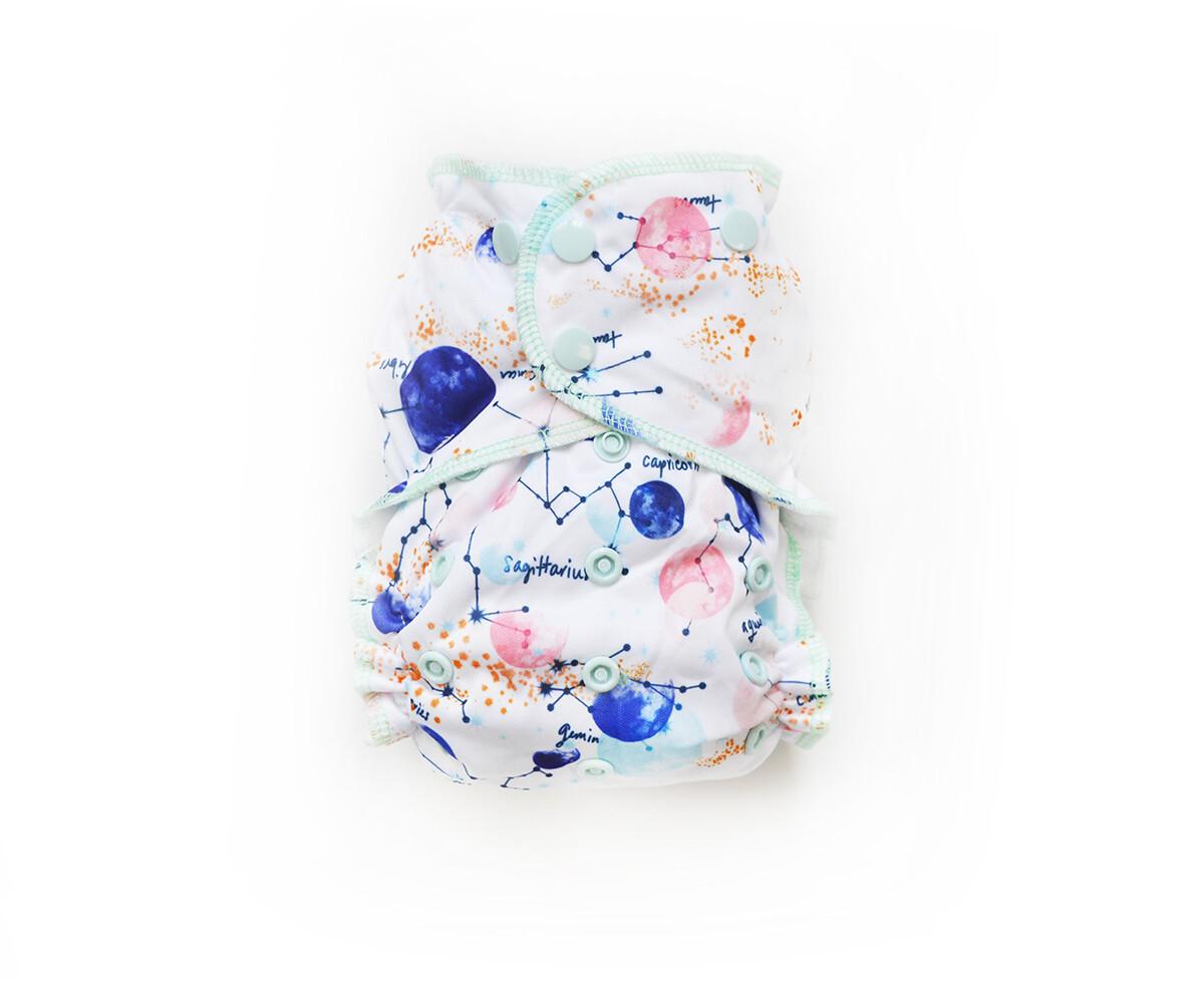Easy Peasies One size Pocket Cloth Diaper - Apollo