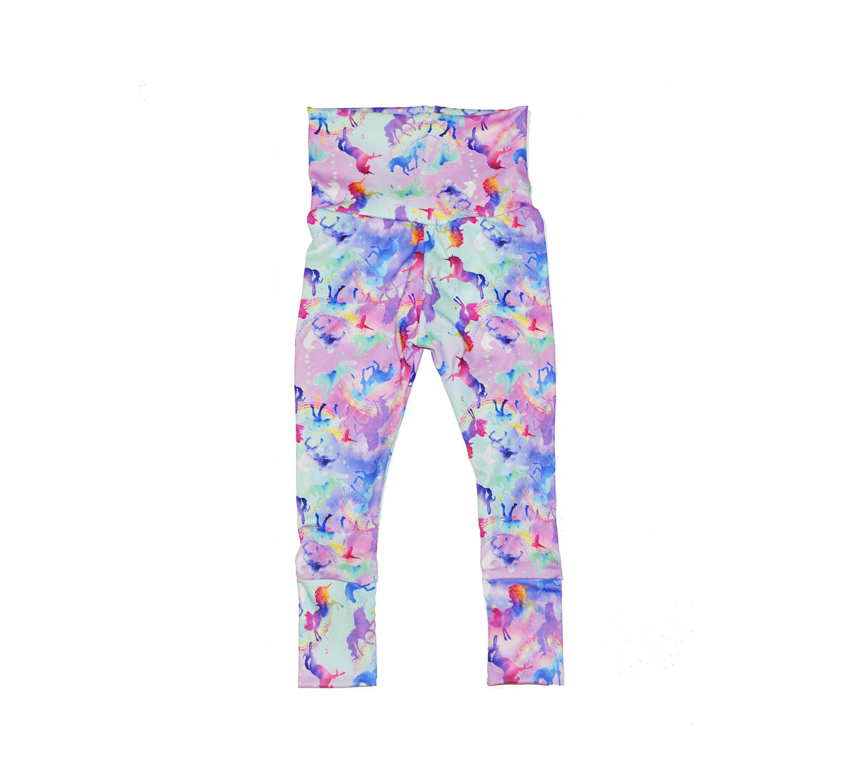 Little Sprout Pants™ in Celeste | Grow With Me Leggings - Cozy Jersey