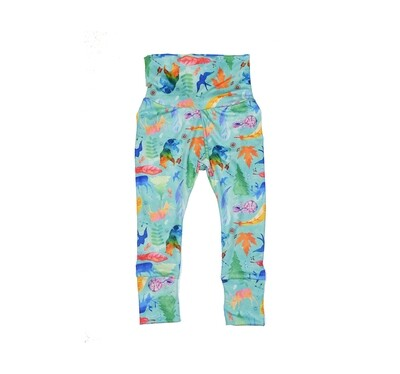 Little Sprout Pants™ in Wild & Free | Grow With Me Leggings - Cozy Jersey