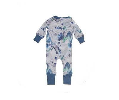 Little Sprout™ Footless Romper Sleeper | Blue Ridge Mountains