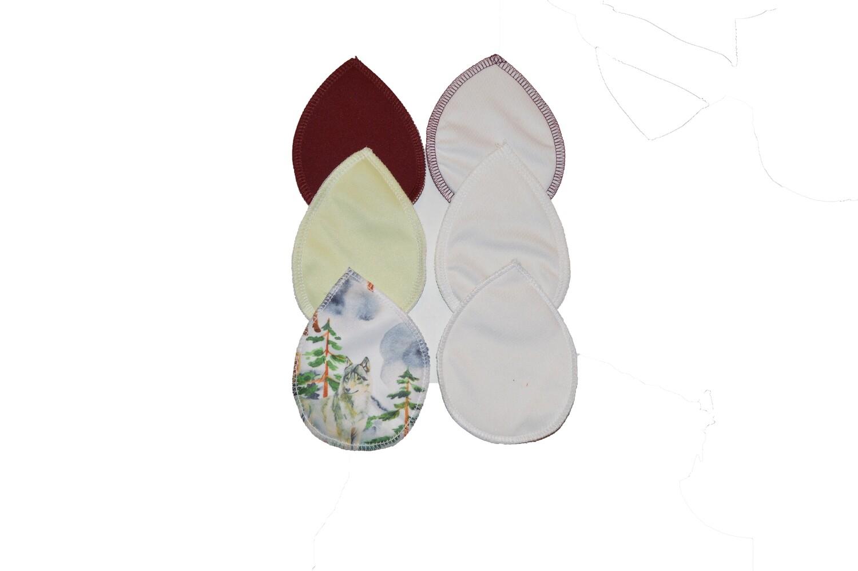 Set of Reusable Nursing Pads - 3 pair- Simply Into the Mist Set