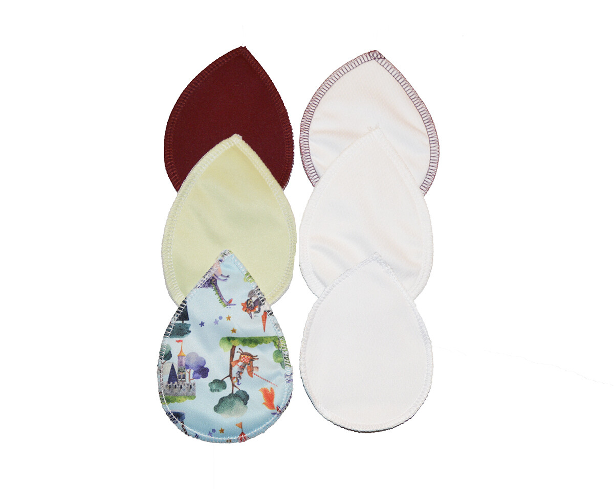 Set of Reusable Nursing Pads - 3 pair- Simply Good Knight Set