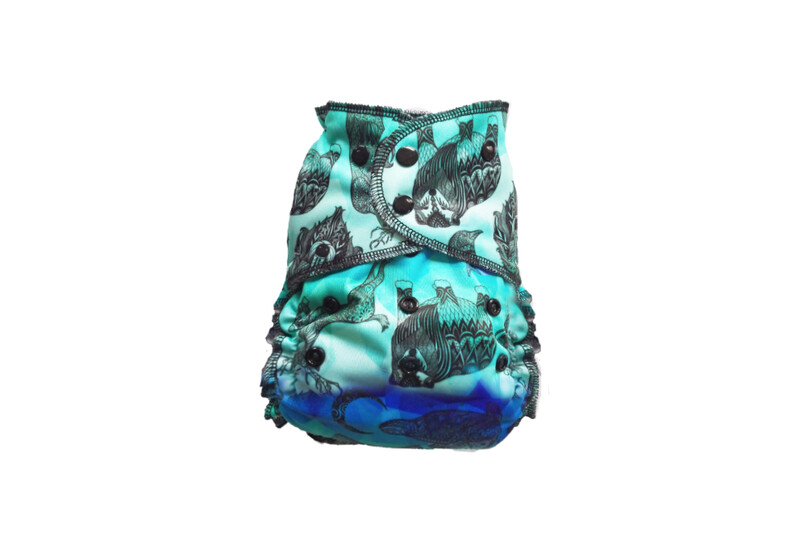 Easy Peasies One size Pocket Cloth Diaper - SECONDS