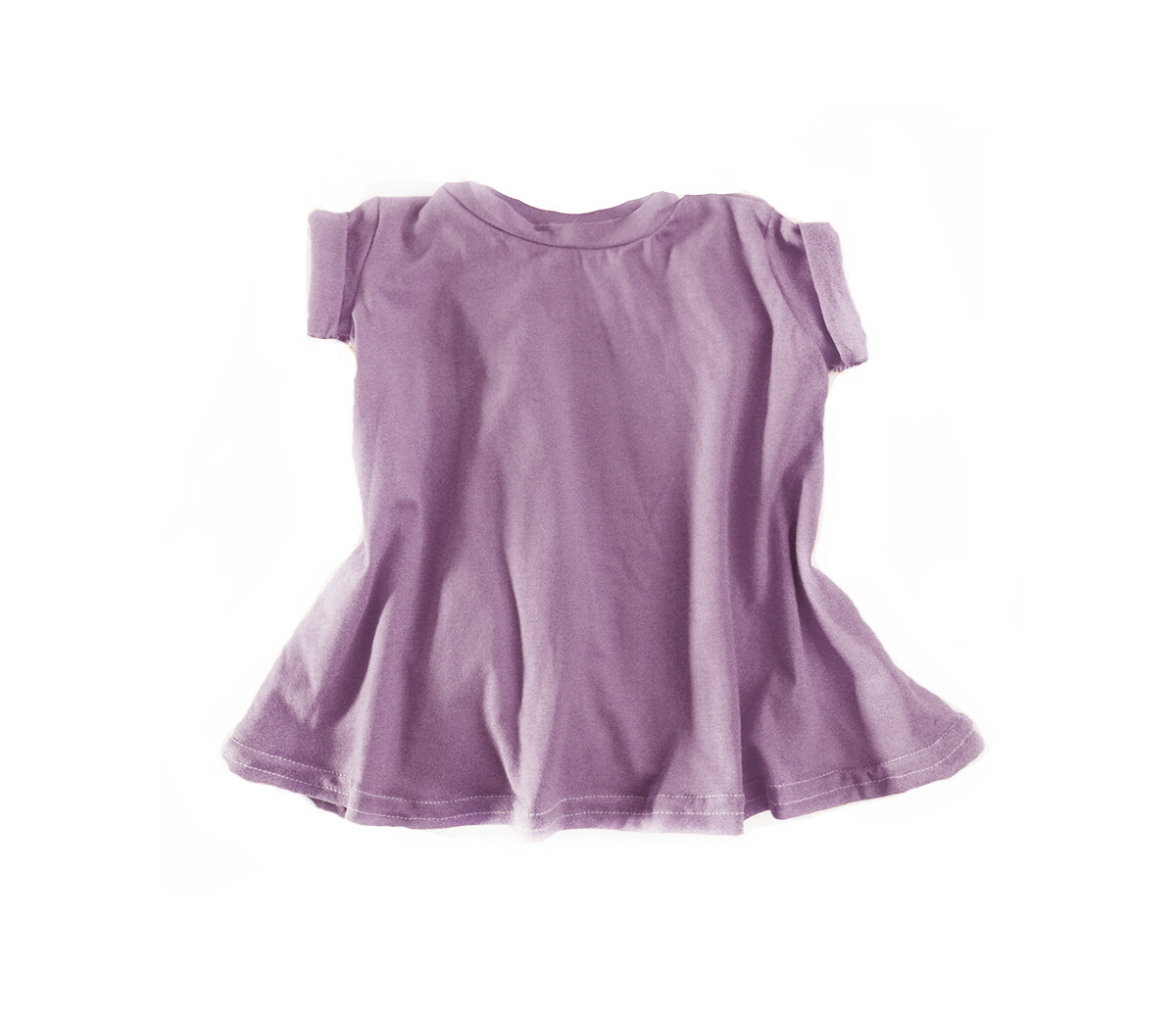 Little Sprout™ Grow with Me T-Shirt Dress | Mauve | Tencel