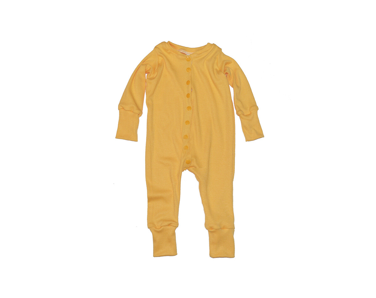 Little Sprout™ Grow with Me Footless Ribbed Zip Knit  Sleeper | Sunshine