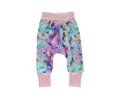 Little Sprout™ One-Size Grow with Me Lounge Pants - Bottoms - Celeste