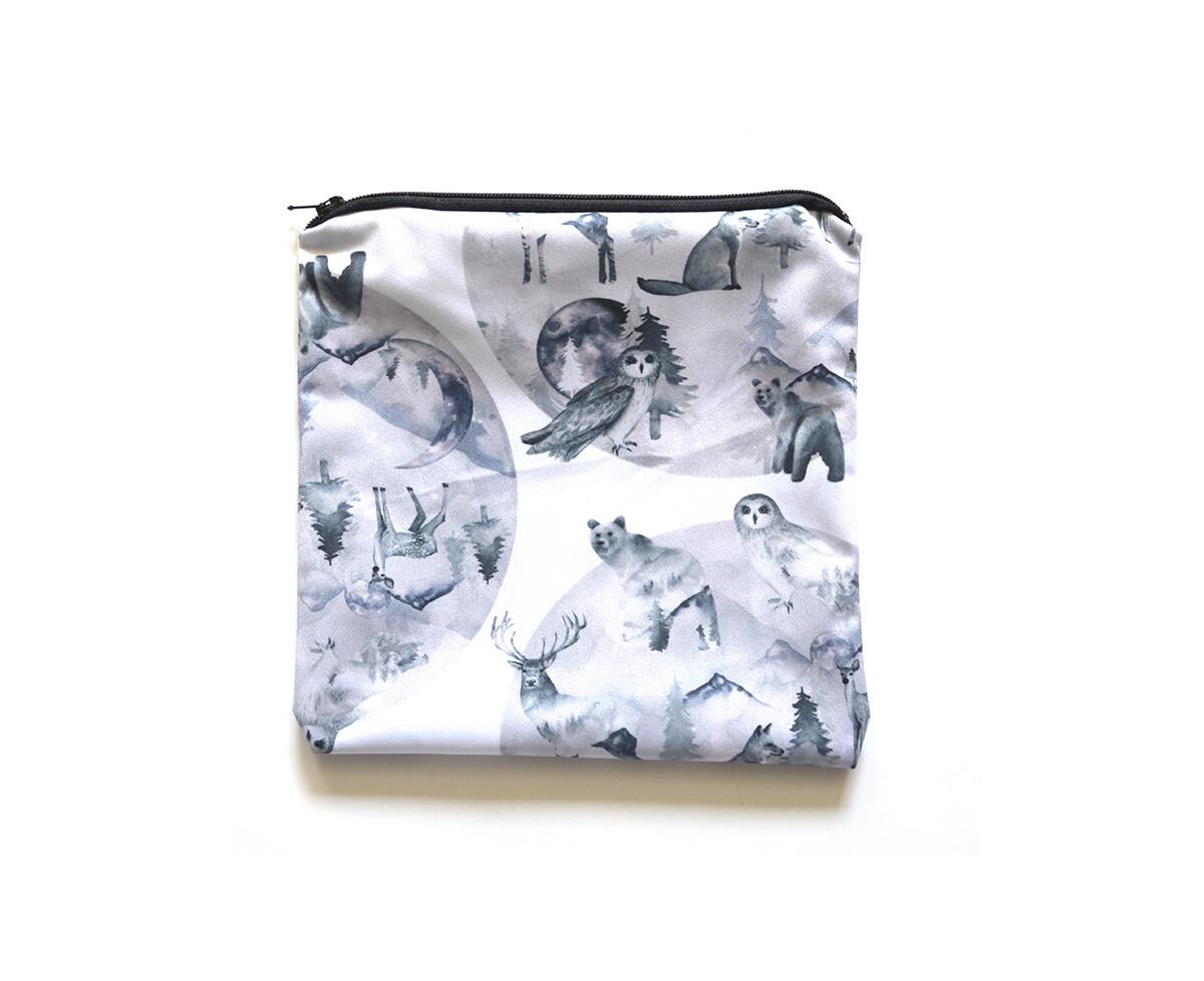 Easy Peasies® Reusable Sandwich Bag - Moonlight
