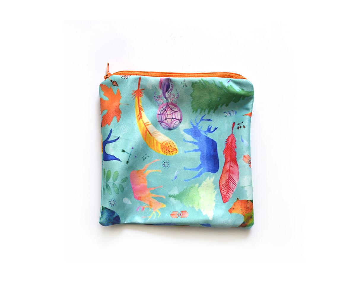 Easy Peasies® Reusable Sandwich Bag - Wild & Free