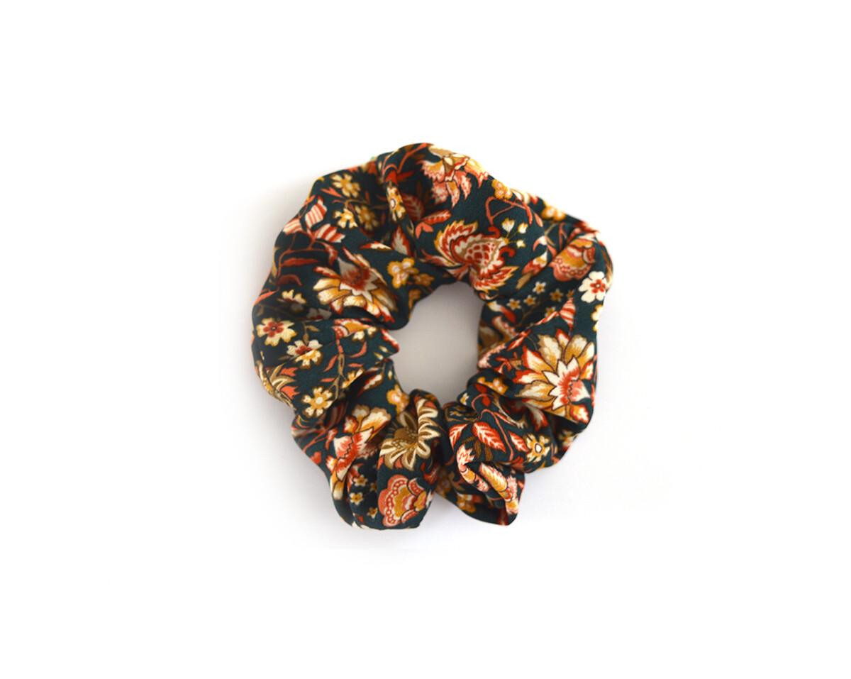 Scrunchy Hair Tie | No-Damage Hair Elastic Ponytail - Vintage Floral