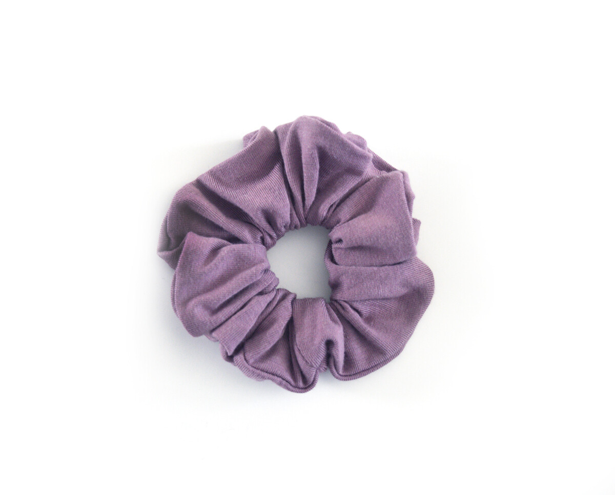 Scrunchy Hair Tie | No-Damage Hair Elastic Ponytail - Mauve