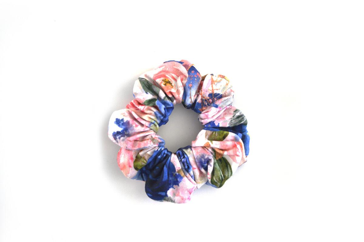 Scrunchy Hair Tie | No-Damage Hair Elastic Ponytail - Bloom