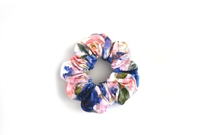 Scrunchy Hair Tie | No-Damage Hair Elastic Ponytail - Bloom