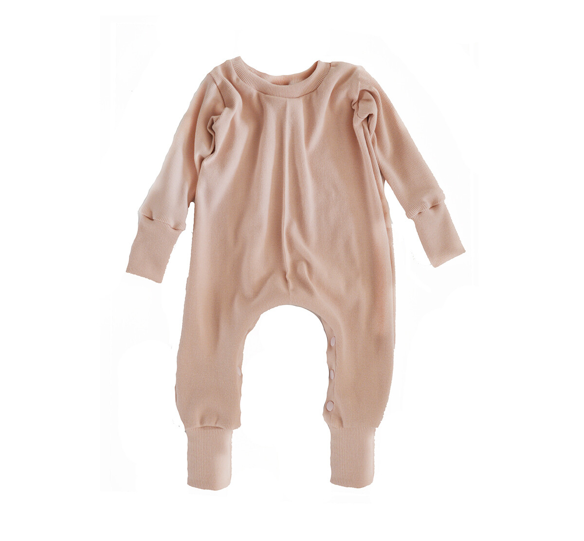 Little Sprout™ Grow with Me Footless Ribbed Knit Sleeper | Blush