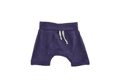 Little Sprout™ One-Size Grow with Me Lounge Short with Kangaroo Pocket | Plum