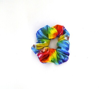 Scrunchy Hair Tie | No-Damage Hair Elastic Ponytail | Summer Tie Dye