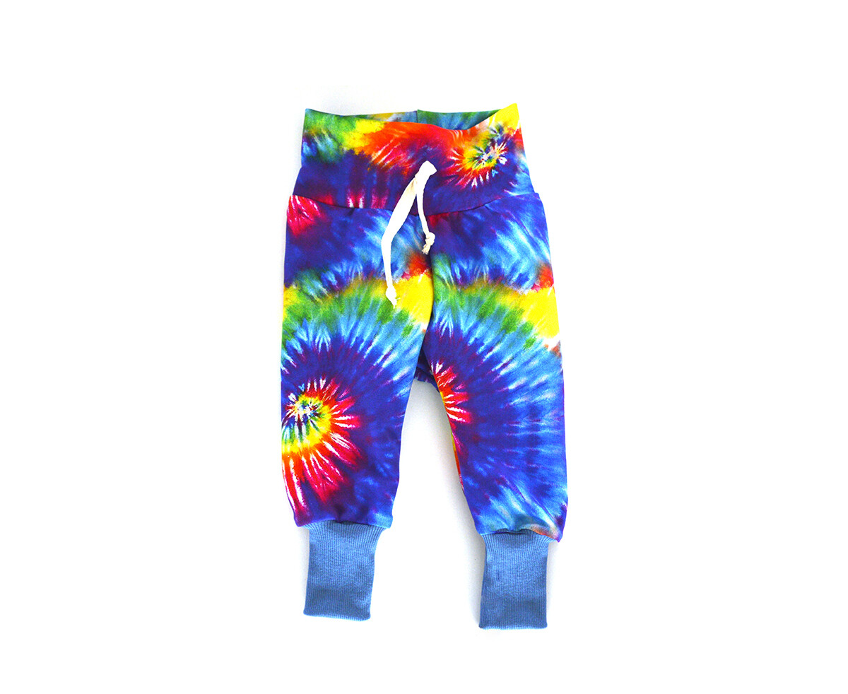 Little Sprout™ One-Size Grow with Me Joggers - Sweat Pants   Summer Tie Dye