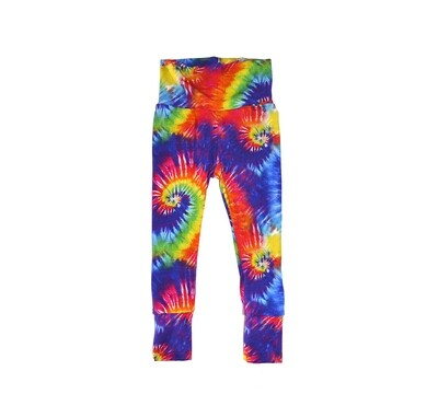 Little Sprout Pants™ | Grow With Me Leggings | Summer Tie Dye