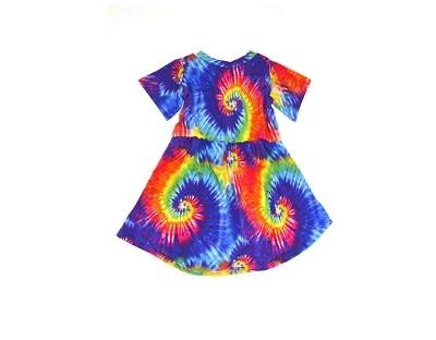 Little Sprout™ Twirl Dress | Summer Tie Dye