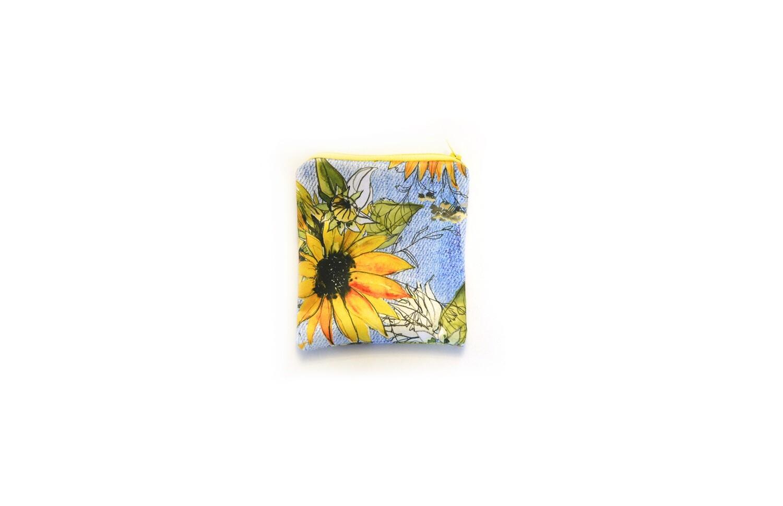 Easy Peasies® Reusable Snack Bag   Sunflower Denim